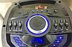 Портативная акустическая система Temeisheng TS-210-05   2 микрофона LED подсветка, фото 3