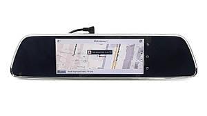 Автомобільний відеореєстратор DVR Phisung V300 на Android   дзеркало з камерою чорний