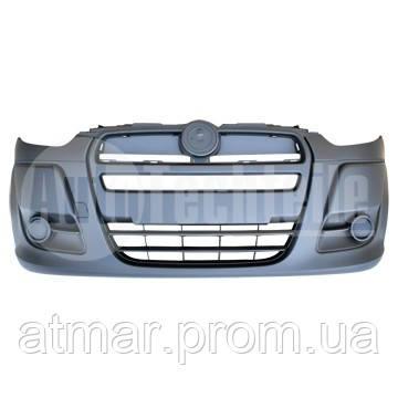 Бампер передній під фарбування Autotechteile 5051213 Fiat Doblo від 2009 року. Оригінал: 735512752.
