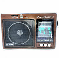 Портативный радиоприемник на батарейках GOLON RX-9966UAR Fm радиоприемники Fm радио Люкс