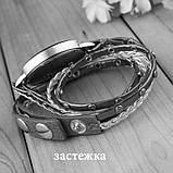 Часы-браслет длинные Черные 143-2, фото 2