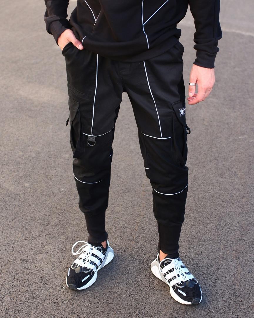 Чоловічі штани Карго Рейден з рефлективом