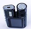 Автомобильный видеорегистратор Р 1000 | авторегистратор с двумя камерами черный, фото 4