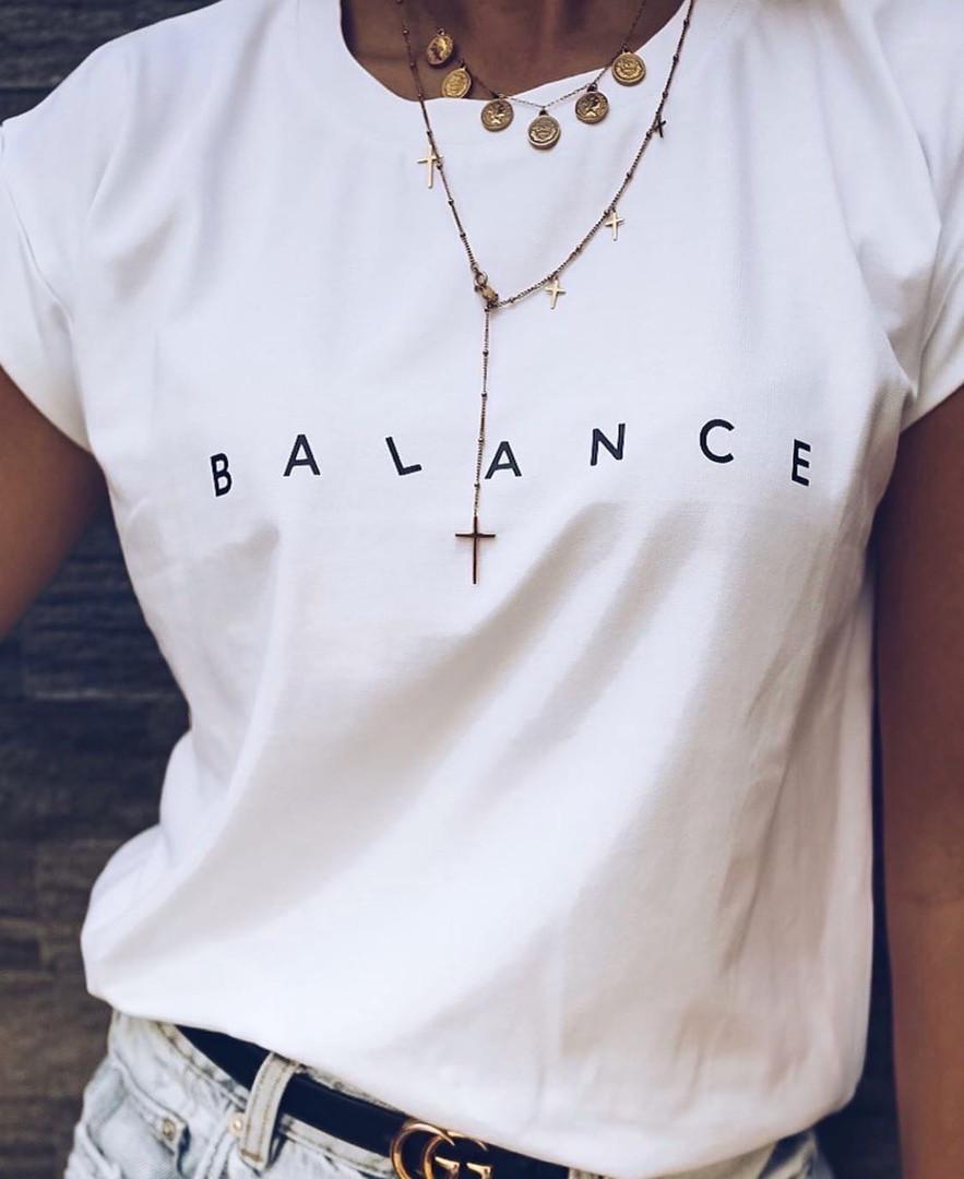 Футболка жіноча «Balance» (Батал)