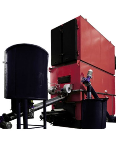 Котел на трісці і пеллетах RED LINE Biomassa 2000 кВт