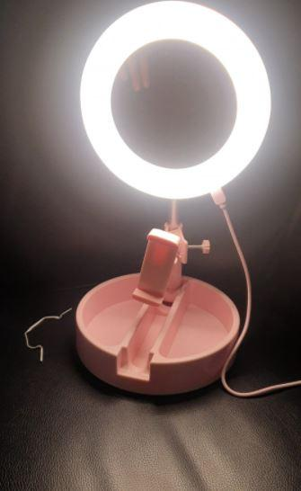 Зеркало LED лампа 16 см Live Makeup G3