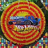 Піньята Hot Wheels хотвилс hotwheels машина машинки тачки паперова для свята, фото 6
