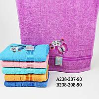 Полотенце банное махровое 70 на 140 см (от 6 штук)