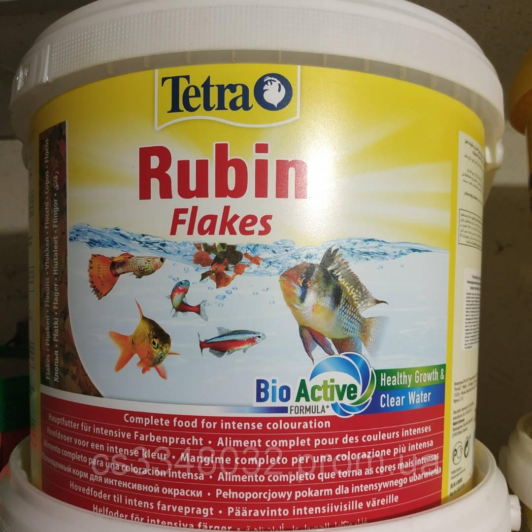 Tetra Rubin Flakes  корм для рыб Тетра Рубин хлопья 100 граммов
