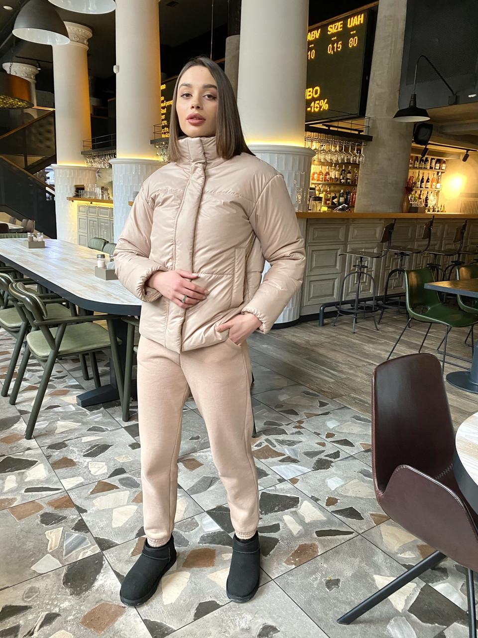 Брендовая актуальна демисезонная куртка Месси