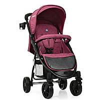 Коляска детская Bambi Favorit Purple на полиуретановых колесах