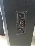 Акустическая портативная колонка A 12-11 с радиомикрофоном (USB/Bluetooth), фото 4