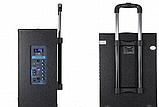 Портативная акустическая система Temeisheng QX-1207 с 2 микрофонами, фото 3