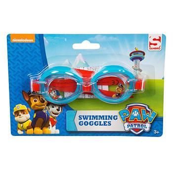"Детские очки для плавания ""Paw patrol"" Nickelodeon"