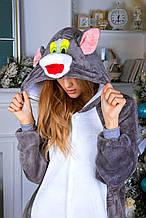 Кигуруми кот Томас (пижама, костюм детский, женский, мужской комбинезон)