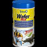 Tetra Wafer Mix  корм для рыб Тетра Вафер микс чипсы 100 граммов, фото 3