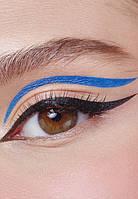 Устойчивая подводка-маркер для глаз Glam Team, тон голубой, фото 1