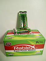 Алкалінові Батарейки ААА Rablex, фото 1