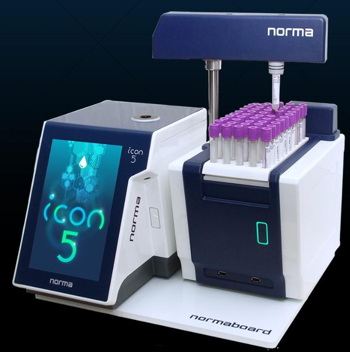 Интелектуальный лазерный гематологический анализатор norma Icon 5 Diff