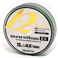 Шнур Daiwa UVF Morethan Sensor 12 EX+SI 150м