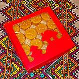 Подарочный набор круглых чайных восковых свечей 15г (16шт.) в коробке Красное Сердце, фото 8