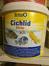 Tetra Cichlid Sticks корм для рыб Тетра цихлид Стикс 100 граммов