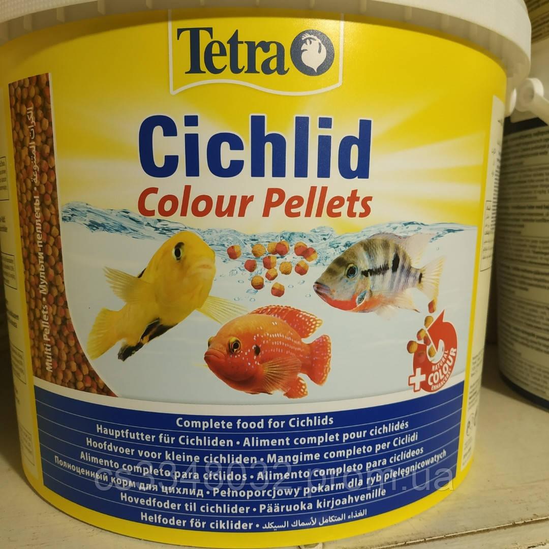 Tetra Cichlid Colour корм для рыб Тетра цихлид колор  100 граммов