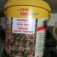 Sera San Nature корм для рыб Сера Сан хлопья 100 граммов