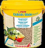 Sera Cichlids Sticks Nature корм для рыб Сера цихлид цихлид Стикс 100 граммов, фото 3