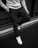 Мужские брюки в классическом стиле черные