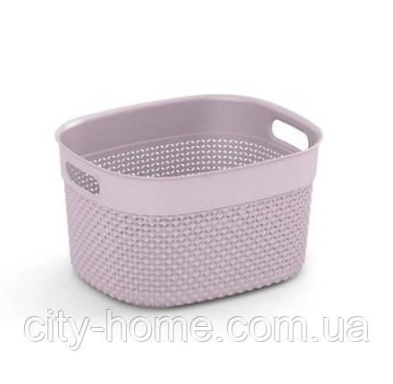 """Корзина для хранения  KIS """"Filo Basket S"""" (27х22х15 см) розовая., фото 2"""