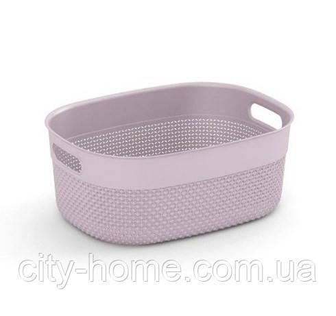 """Кошик для зберігання KIS """"Filo Basket М"""" (38х28,5х15 см) рожева."""
