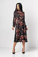 ✔️Модное женское платье отрезное  42-48 размера разные расцветки