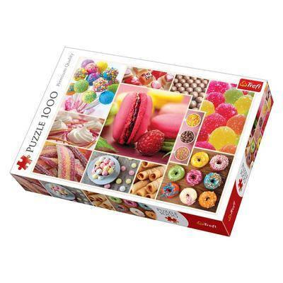 Пазл 1000 Trefl Колаж цукерок (Candy collage), фото 2