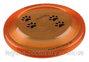 Игрушка диск-фрисби для собак 23см, фото 3