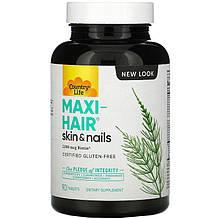 """Комплекс для волос, кожи и ногтей Country Life """"Maxi-Hair Skin & Nails"""" усиленые витамины (90 таблеток)"""