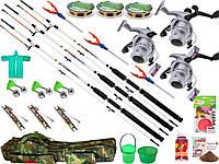 Рыболовный набор Crocodile, подарок мужу, Удочки и спиннинг, Наборы рыболова, набор рыболовных снастей!