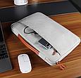 Чехол для Macbook Air/Pro 13,3'' - сірий, фото 9