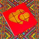 Подарочный набор квадратных чайных восковых свечей (9шт.) в коробке Синий Снег, фото 3