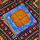 Подарочный набор квадратных чайных восковых свечей (9шт.) в коробке Синий Снег, фото 6