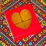 Подарочный набор квадратных чайных восковых свечей (9шт.) в коробке Синий Снег, фото 8