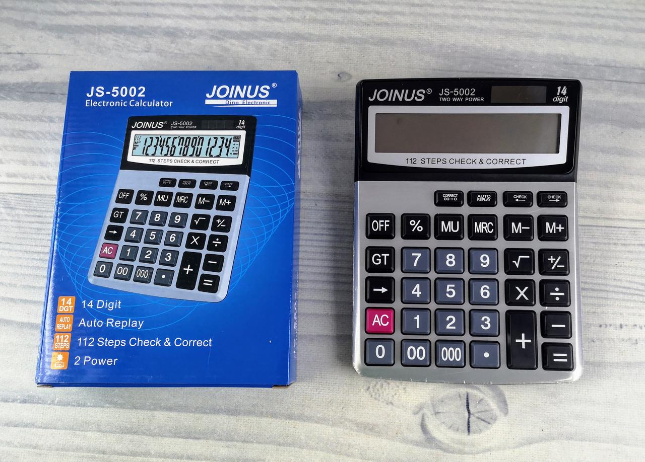 Калькулятор настільний JS-5002 5396Ф