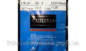 Линзы минеральные с покритием антиблик индекс 1,523 Taijiahao Matsuda