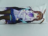 Подушка обнимашка Дакимакура 150 х 50 Амія для обнимания аниме ростовая односторонняя, фото 2