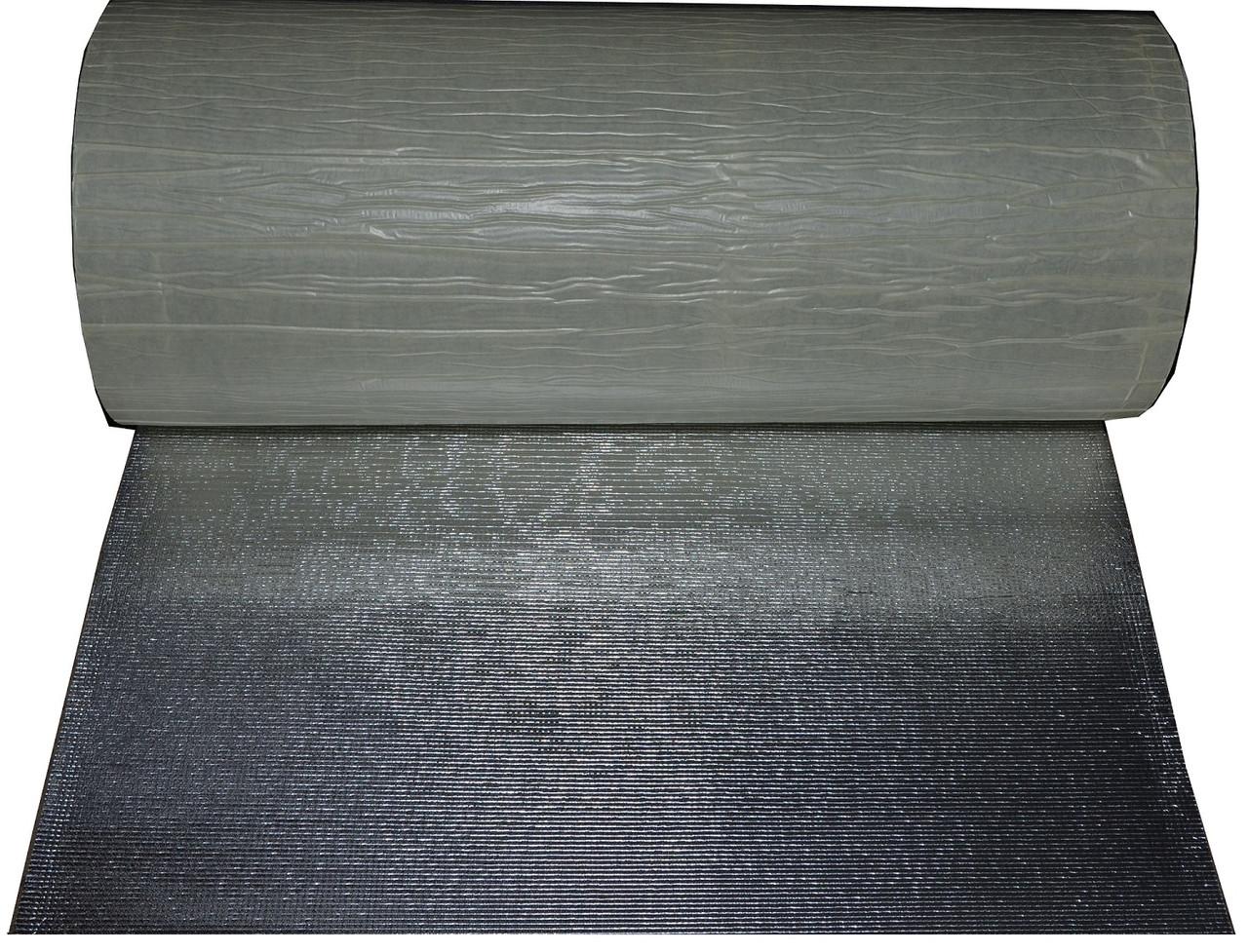 Хімічно зшитий фольгований самоклеючий поліетилен 10мм