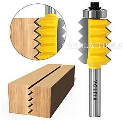 Фреза для зрощування деревини (мікрошип) (мікрошип) по ширині і довжині по дереву VOLFIX FZ-120-512 d8