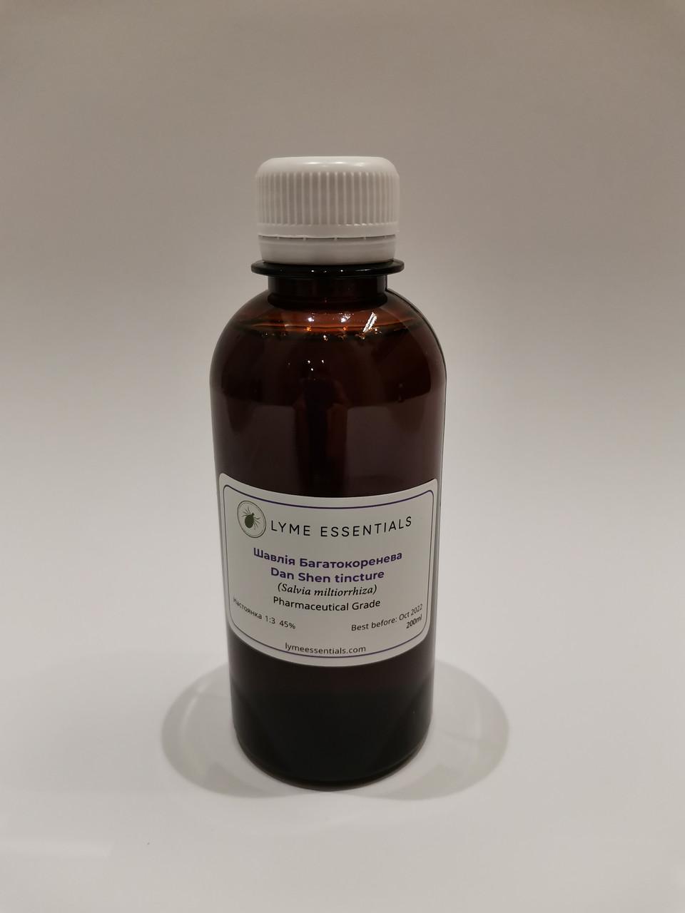 Настойка Шалфея Многокорневого (Salvia Miltiorrhiza) 1:3 45% 200 мл