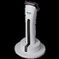 Машинка для стрижки волос Gemei GM-725 - Беспроводная аккумуляторная машинка, триммер бритва для усов и бороды, фото 1