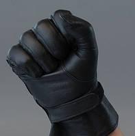 Перчатки кожаные армейские патрульные.