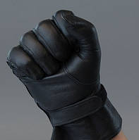 Перчатки кожаные армейские патрульные., фото 1